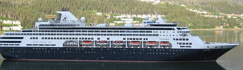 ms veendam holland america line