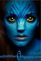 Cara Membuat Efek Avatar Dengan Photoshop