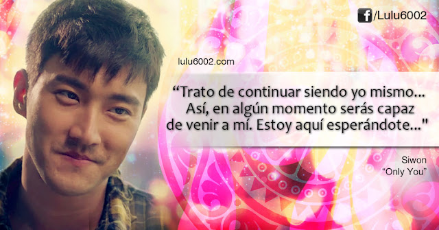 siwon ost only you she was pretty frases doramas frases kpop