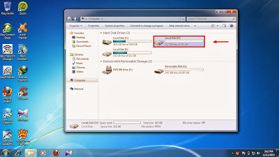 How to show hidden folder and files in windows 7 step4