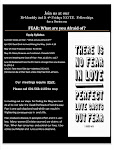"JOIN  N.O.T.E. Series on FEAR:""What Are you Afraid of?"""