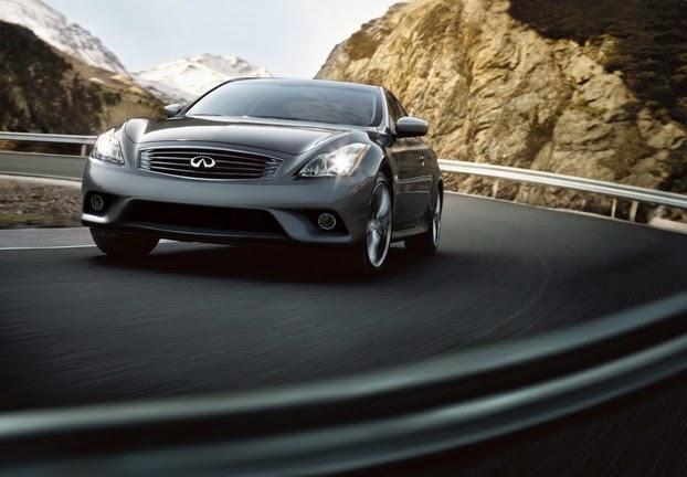 Infiniti coupe is a sweet-handling dream