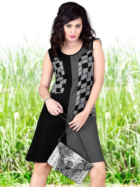 Beautiful Girls Georgette Kurtis Designs 2015