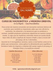 CURSOS DE MACROBIÓTICA Y MEDICINA ORIENTAL 2017