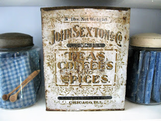 early tea tin