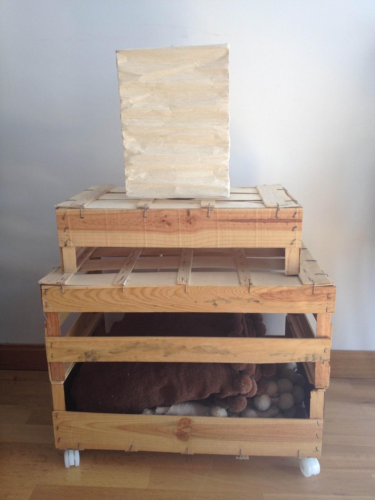 Pinafili un mueble con cajas de frutas - Muebles para frutas ...