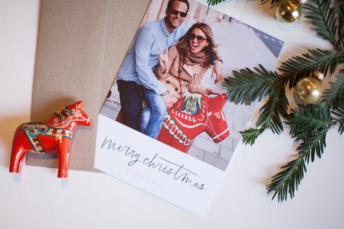 Hope Engaged Christmas Card Love
