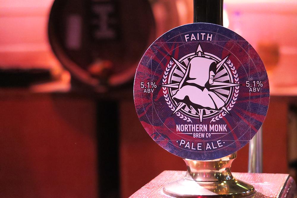 Faith Northern Monk Beertown Malton March 2015 at Milton Rooms