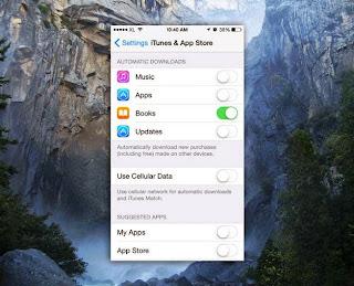 cara setting iphone