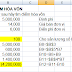 Giải bài toán điểm hòa vốn bằng Excel