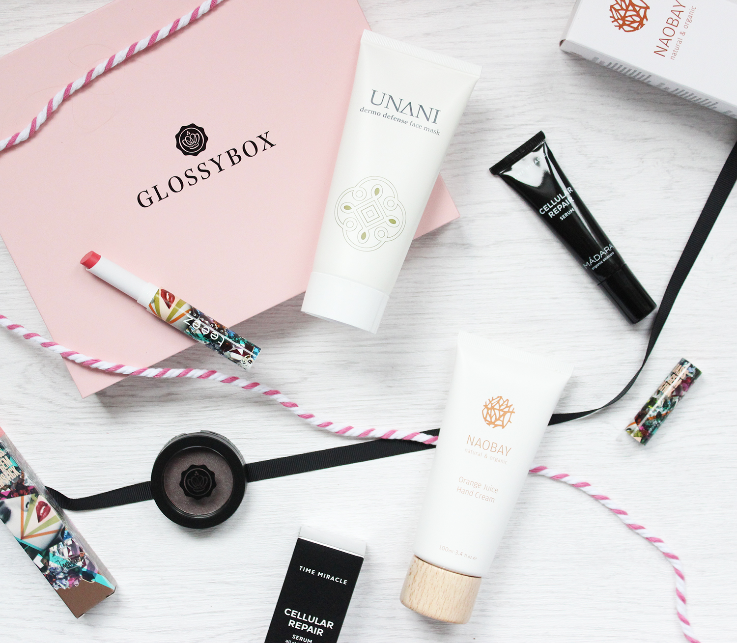 Glossybox January 2016 contents and review