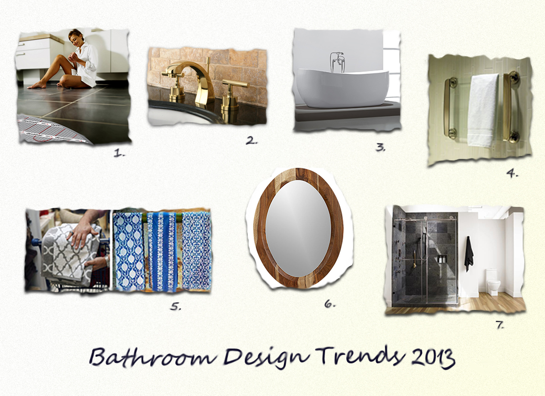 Fresh Coat of Paint: Bathroom Design Trends for 2013
