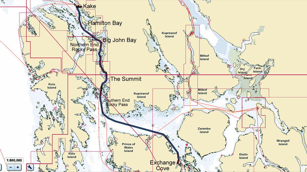 mv WILD BLUE Cruising Blog 19 Rocky Pass to Big John Bay