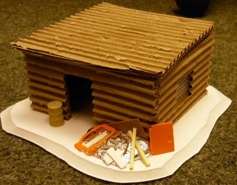 A hobbyist 39 s blog shanty town shack concept building for How to build a small shack