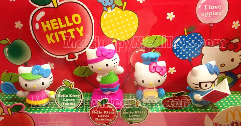 Hello Kitty Mcdonald S Toys : Hello kitty wearing glasses ruler holder mcdonalds happy meal