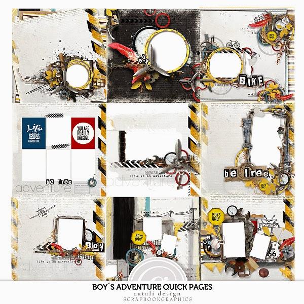 http://shop.scrapbookgraphics.com/Boy-s-adventure-Quick-Pages-I..html