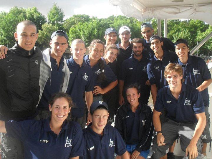 selección uruguaya remo 2011 en TIGRE. ARGENTINA