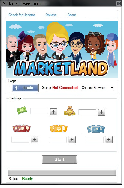 Marketland Cheat Engine 2013