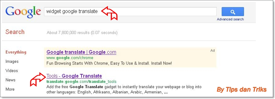 how to add translation to my website