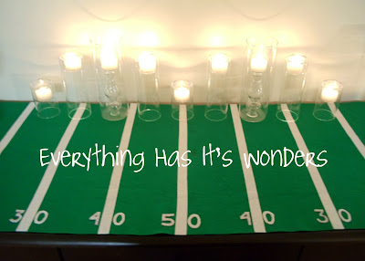 Super Bowl Decor