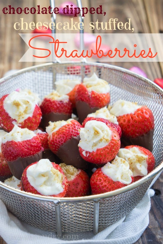 Chocolate Covered Cheesecake Strawberries Recipes — Dishmaps
