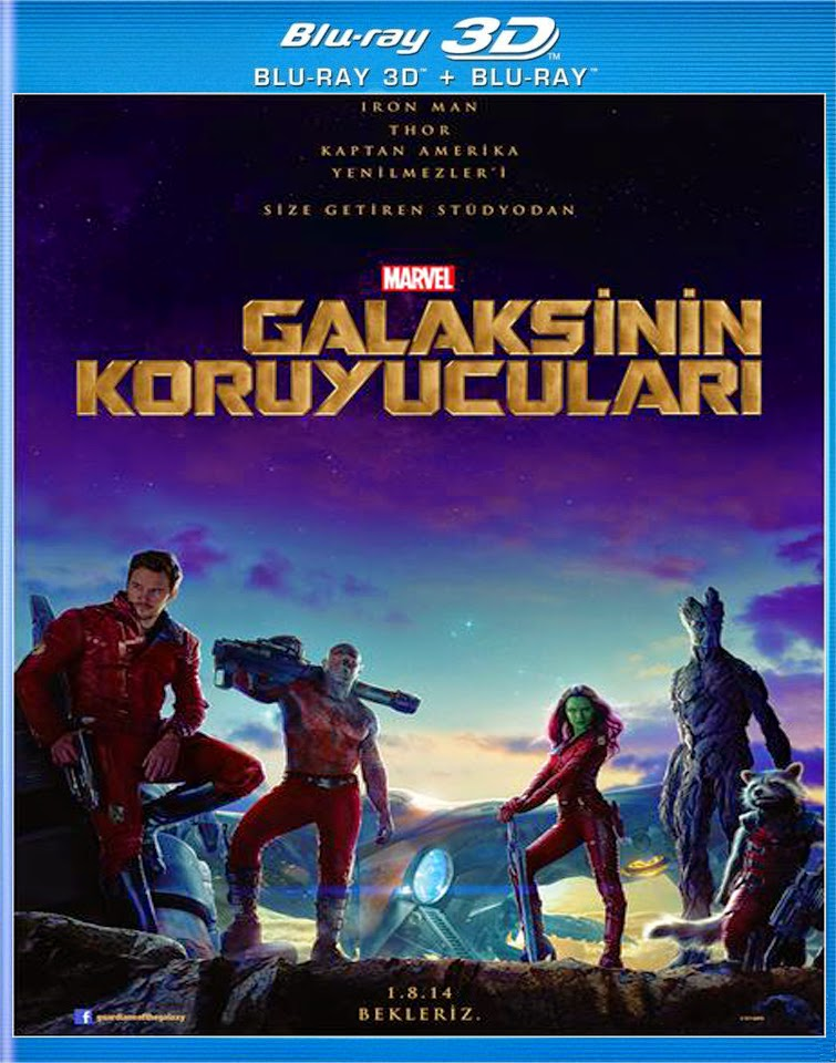 Galaksinin Koruyucuları - Guardians of the Galaxy (2014) afis