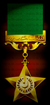 Nishan-e-Haider Pakistan's Highest Military Award