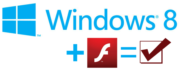 Windows 8 and Flash Player