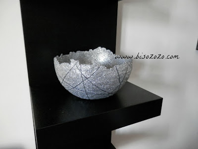 glitter and glue bowl