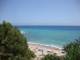 Platja del Torn nudist beautiful beach - L´Hospitalet de L'Infant