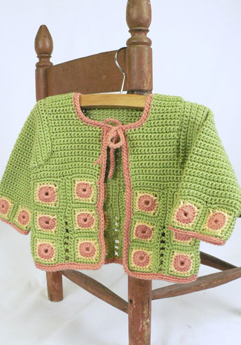 Free Knitting Pattern Toddler Jacket : Miss Julias Patterns: Free Patterns - 35 Baby Sweaters to Knit - Crochet