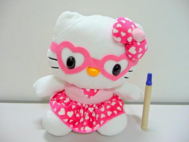 Gambar boneka hello kitty untuk anak