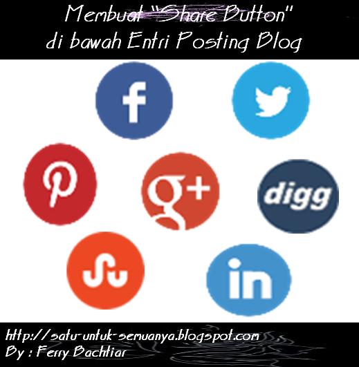 cara membuat share button pada blog
