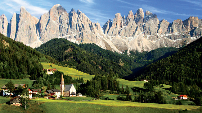 Boomers on the move usa rocky mountain high italy for Where are the dolomites located in italy