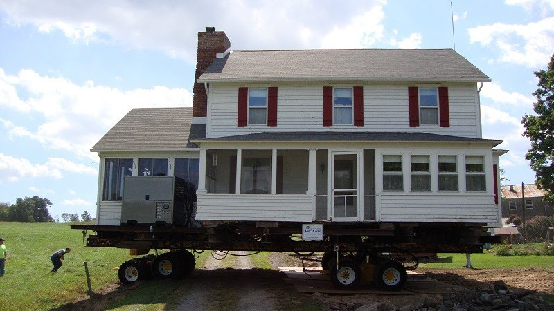 Structure Relocation - Moving Houses