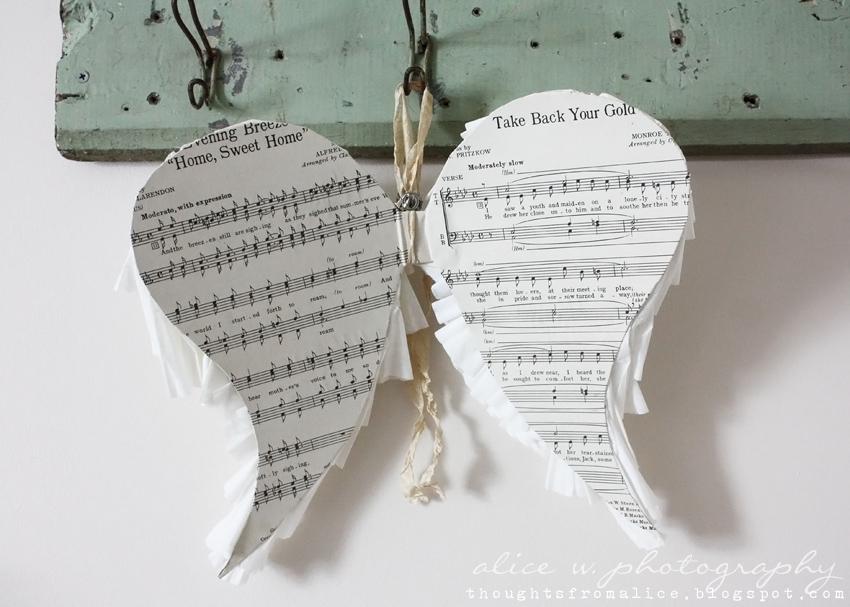 Sheet+music+backing+for+angel+wings