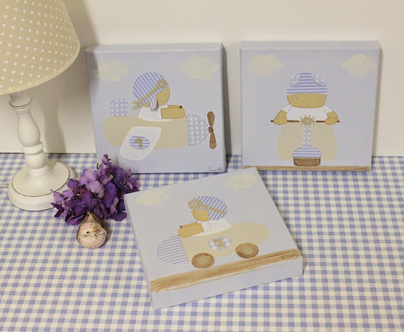 Decoraci n infantil personalizada cuadros infantiles - Cuadros fotos personalizados ...