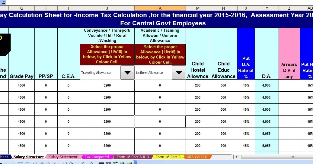 budget creator based on income
