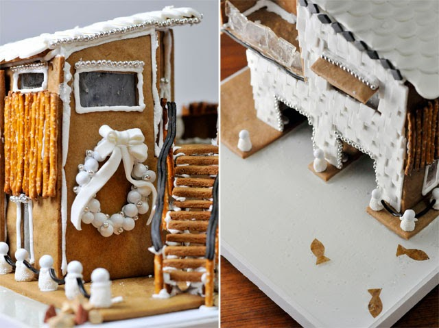 A legg up gingerbread boathouse pre shenanigans but in reality it was 4 hours and that was just the baking part maxwellsz