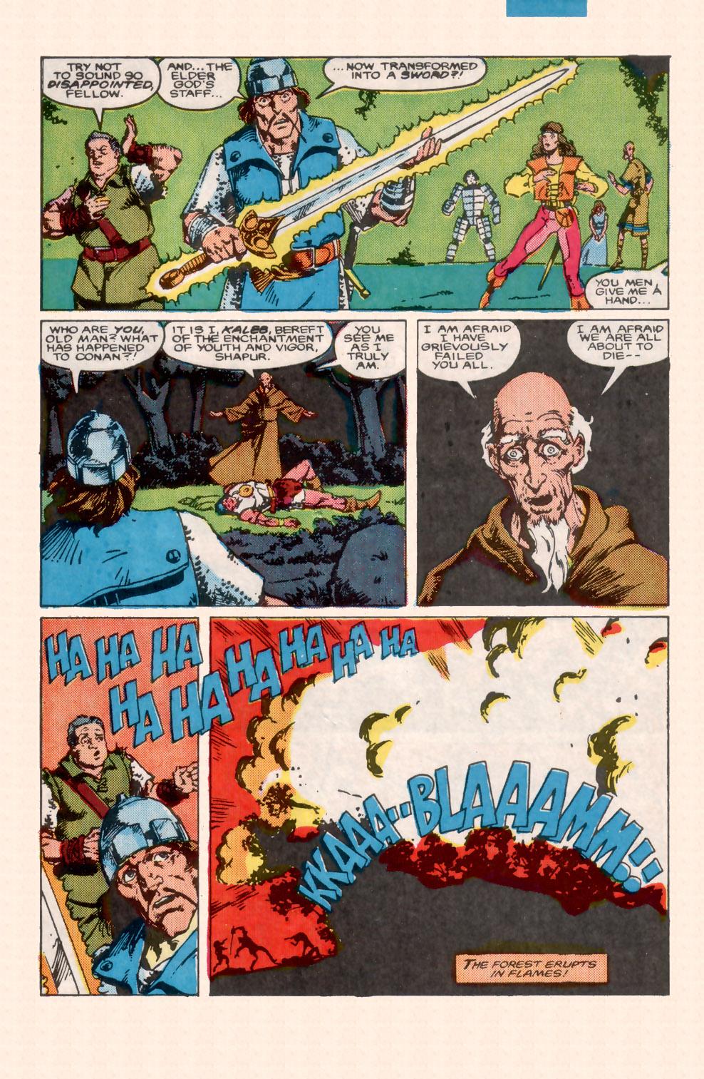 Conan the Barbarian (1970) Issue #199 #211 - English 22