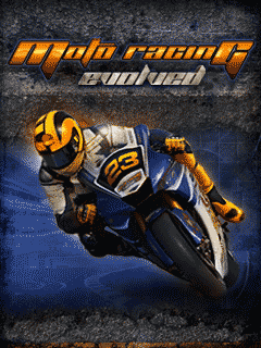 Screenshots of the Moto Racing: Evolved for java mobile, phone.