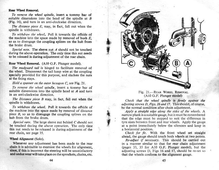 BSA Manual Book hellip Instruction Manual for A7 Twin A7