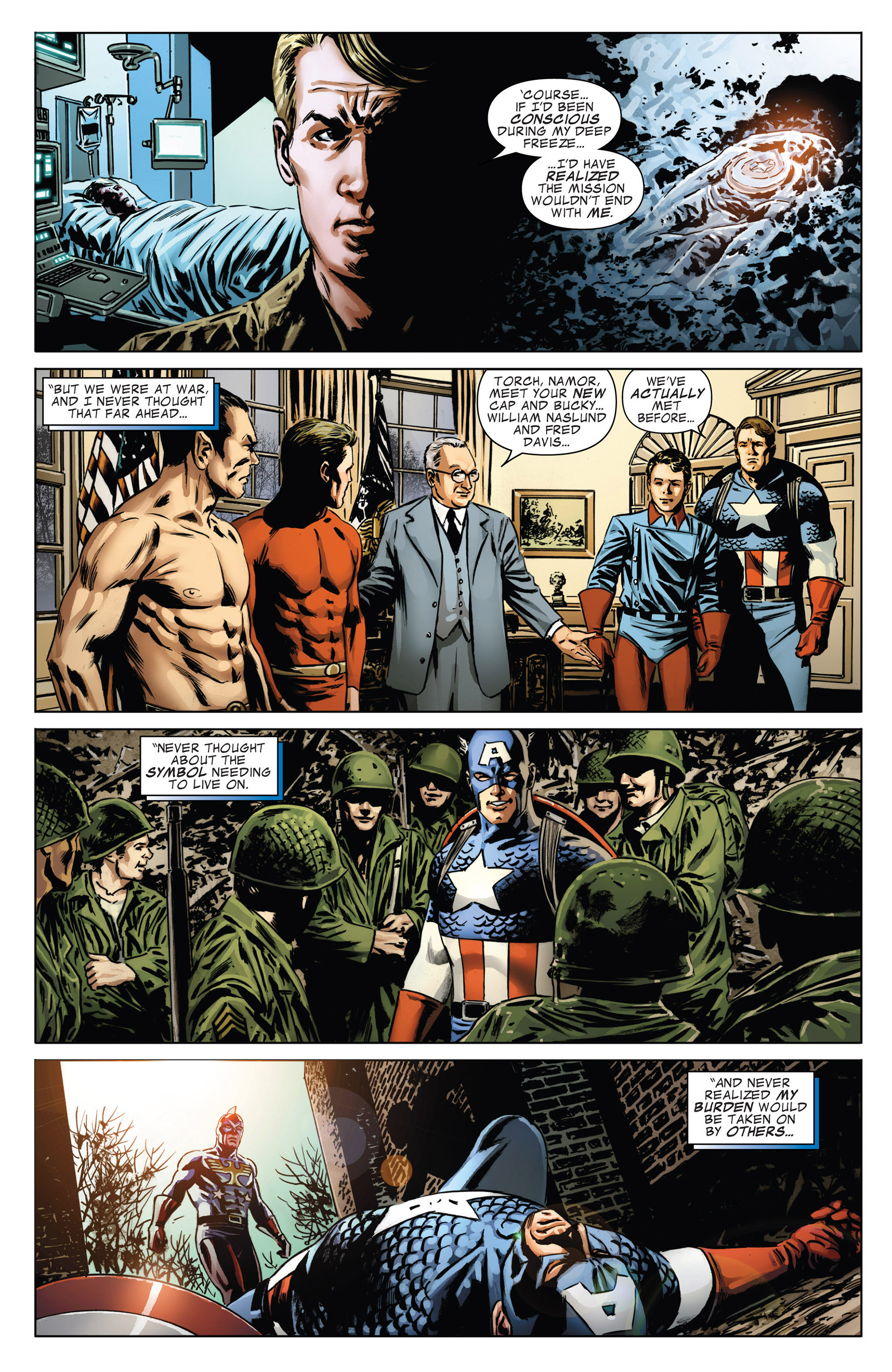 Captain America (2011) Issue #19 #19 - English 14