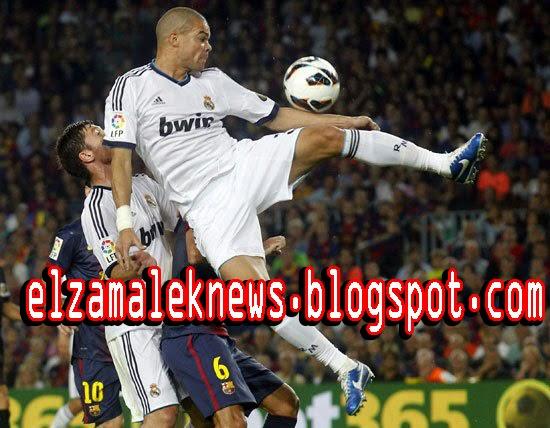 بيبي مدافع ريال مدريد البرتغالي الدولي