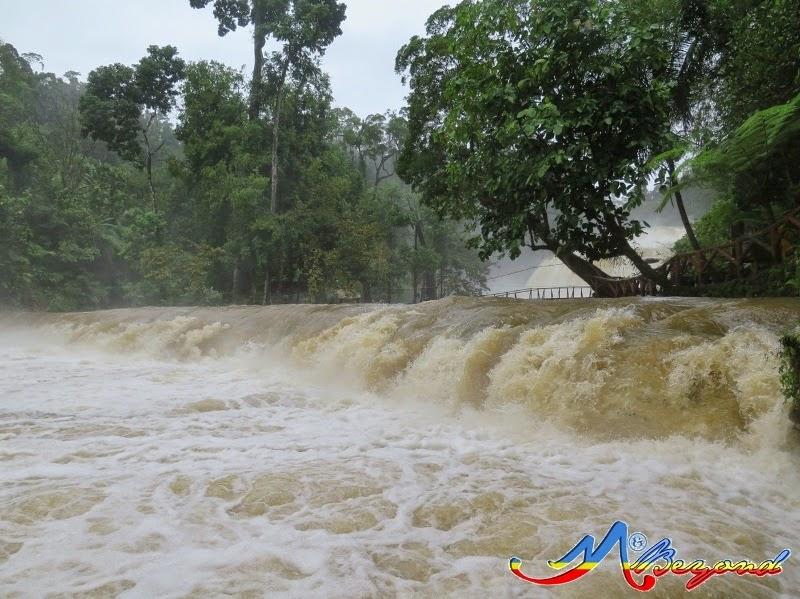 tinuy-an falls, tinuy-an waterfalls, travel from hinatuan to davao, travel from hinatuan to bislig, travel from hinatuan to tinuy-an, travel from sibadan to davao, sibadan fish cage, enchanted river,  tinuy-an falls bislig