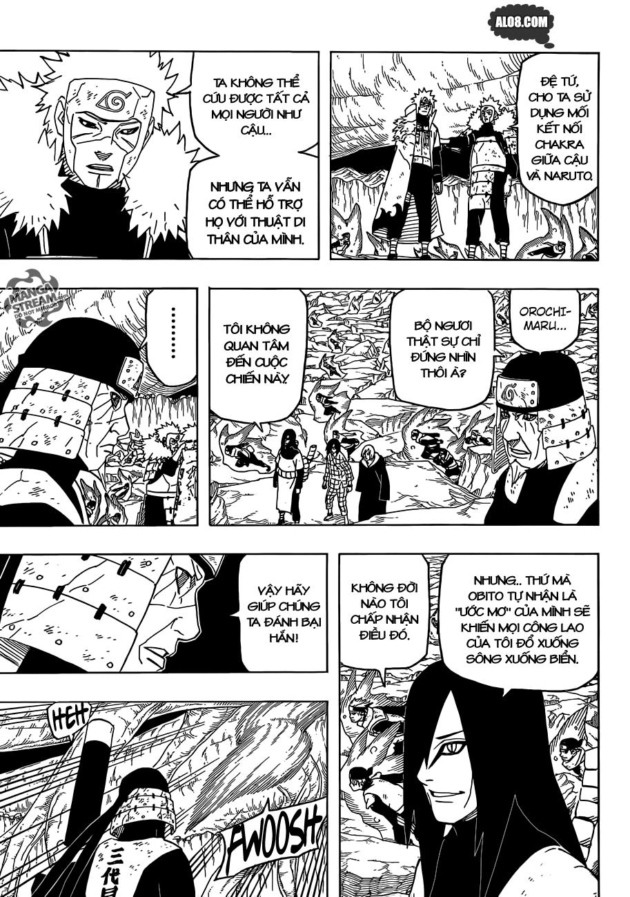 Naruto chap 650 Trang 3