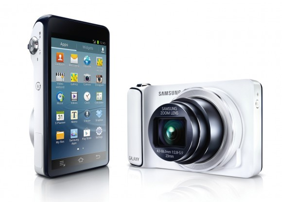 Galaxy Camera, 16 MP Camera with OS Android Jelly Bean