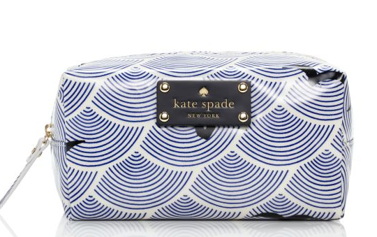 Kate Spade Bird Over Arches Makeup Bag $80