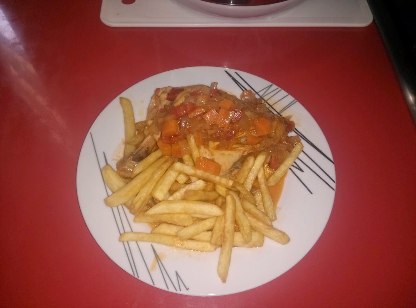 Las recetas de la cookermatic muslos de pollo en salsa de for Muslos pollo en salsa