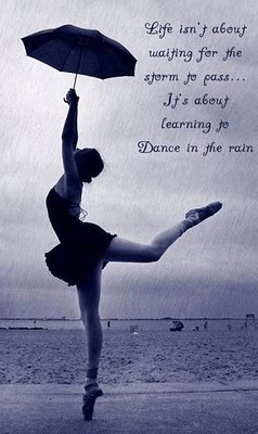 dancing girl in rain rainy quotes wallpapers